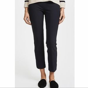 Vince front seam navy  pant